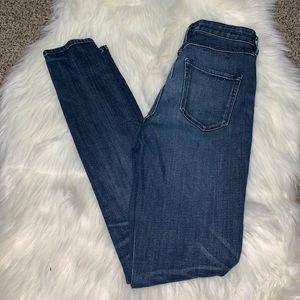3X1 skinny jeans waist 25 high waisted
